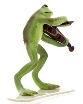 Hagen-Renaker Specialties Froggie Mountain Breakdown Bluegrass Frog Violin   image 4