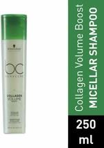 BC Bonacure by Schwarzkopf Collagen Volume Boost Micellar Shampoo 250ml - $14.00