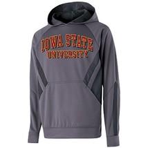 NCAA Iowa State Cyclones Men's Argon Hoodie, Medium, Graphite/Carbon - $27.95