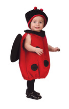 Baby Lady Bug Plush Baby Costume Up to 24 Months - Free Shipping - $25.00