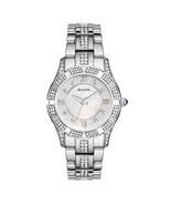 Bulova Women's Stainless Steel Crystal Watch 96L116 - $210.00