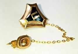 Vintage Sigma Pi Pin, Vintage Fraternity Sigma Pi Goldtone Pin, Petite, Tie Tack