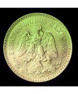 1935 Mexico 50 Centavos Silver Coin AU Very Nice - $9.20