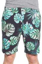NEW MENS FRENCH CONNECTION JUNGLE PUNCH FROND SWEAT KNIT SHORTS S $98 - $29.99