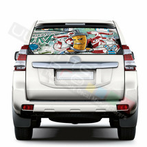 Sticker Bomb Skin Window See Thru Stickers Perforated for Toyota Land Cr... - $59.80