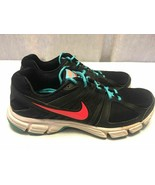 Nike Downshifter 5 Women's Black Turquoise Running Shoes Size 10 #537571... - $14.36