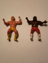 1984 WWF LJN Hulk Hogan and The Junkyard Dog Vintage - $52.50