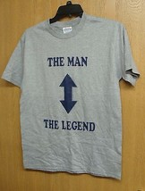 NEW MENS SIZE X LARGE THE MAN THE LEGEND LOVE GURU T SHIRT WITH ARROWS S... - $1.99