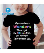My Mom Always Wonders Where I Get My Attitude From... Funny T-shirt For ... - $24.99