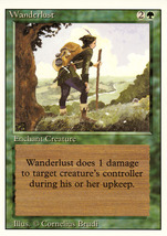 Magic: The Gathering 3rd Edition - Wanderlust - $0.25