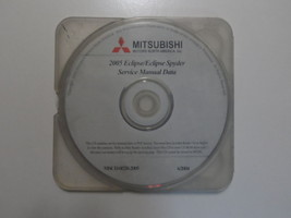 2005 MITSUBISHI ECLIPSE/ECLIPSE SPYDER Service Manual CD FACTORY OEM BAR... - $79.16