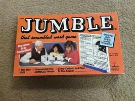 Vintage Jumble Board Game!!! - $18.00