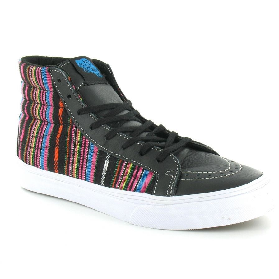 9386544ed5 Vans Authentic SK8 Hi Slim Guate Stripe and 50 similar items