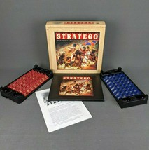 Stratego Nostalgia Game Series w/ Wood Box by Milton Bradley 2002 Complete - $28.98
