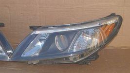 08-12 Saab 9-3 Halogen Headlight Lamps Set Pair L&R image 3
