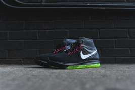 Nike Air Zoom All Out Flyknit Superfly Black Cool Grey Volt SIZE 8 - $297.00