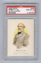 2006 Allen and Ginter #343 Robert E. Lee PSA 10  - $50.45