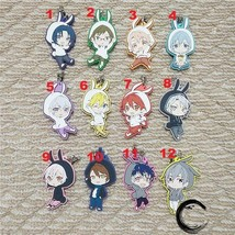 Idolish7 Trigger Re:vale Keychain Anime Rubber Strap Charm Rabbit Ear Ver - $4.98