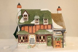 Dept 56 Dickens Village - Ruth Marion Scotch Woolens - #55859 - Lmtd Ed.... - $34.95