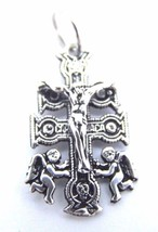 CARAVACA CROSS CHARM .925 STERLING SILVER  - $9.99
