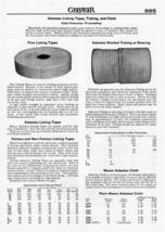 Graybar Electric 1930s Ad Asbestos Tapes Tubing Cloth Catalog Advertisement - $14.99