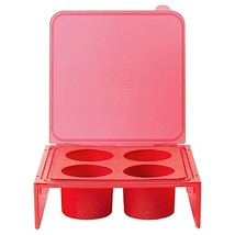 Architec Silicone Savor Cube Tray in Red - $12.99