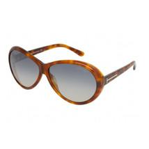 New Tom Ford Geraldine TF202 56B Havana Authentic Sunglasses 62/12/135 - $129.41