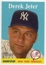 2007 Topps Heritage #5 Derek Jeter Yankees NM-MT (SP - Short Print) - $44.98