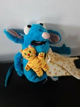 Disney Bear In The Big Blue House Tutor Mouse Plush Stuffed Animal Muppe... - $44.50