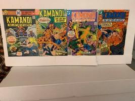 KAMANDI, THE LAST BOY ON EARTH (DC COMICS) 1972-1978 VG 8 BOOK LOT FREE ... - $17.77