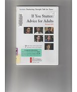 If You Stutter: Advice for Adults (Dvd); Includes Stuttering: Straight T... - $22.99
