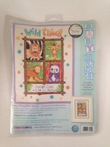 Dimensions Wild Things Birth Record Baby Hugs Counted Cross Stitch - $26.97