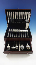 Queen's Lace by International Sterling Silver Flatware Set 12 Service 55 Pieces - $3,650.00