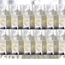 13 Lot White Moroccan Marrakech Lantern Candle Holder Wedding Centerpieces - $100.81