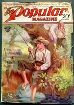Popular Pulp Magazine 1st October 1929- Robert McBlair - $45.40