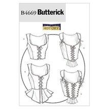 Butterick Patterns B4669 Misses' Corset, Size AA (6-8-10-12) - $14.70