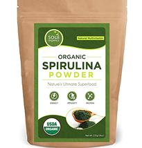 Spirulina Powder Organic Vitamin A  Weight Loss Metabolism Burn Fat Infl... - $24.95