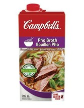 Campbell's Pho Broth Flavour Infused Broth 6 x 900ml Gluten Free  - $79.99