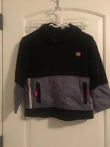 Wilson Boys Fleece/Nylon PullOver Jacket Top MultiColor Sz L 6 OuterWear - $36.65