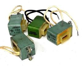 LOT OF 4 GENERAL ELECTRIC 15D3G2 COILS 115V, 60HZ