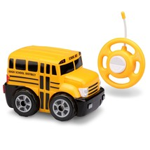 Kid Galaxy My First RC School Bus. Toddler Remote Control Toy, Yellow, 2... - $20.66
