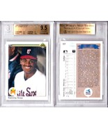 SAMMY SOSA RC 1990 UPPER DECK CARD#17 GRADED GEM MINT BGS9.5-WHITE SOX O... - $49.49
