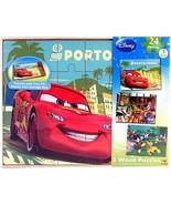 Disney Boys Wood Puzzle Box 3-Pack [Porto Corsa] - $35.99