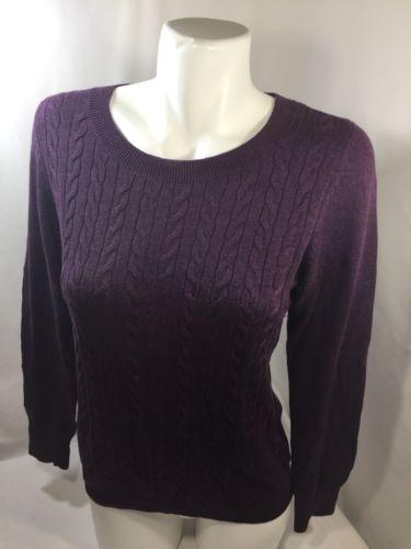 ae1cba6cbd839e Talbots Women Purple Blouse Scoop Neck Long and 50 similar items