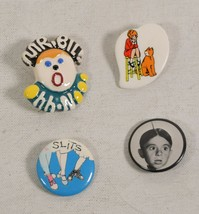 Vintage Mr Bill 1970s Saturday Night Live Pin SNL + Three Other Vintage ... - $19.80