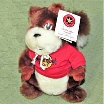"Hard Rock Cafe OASIS SQUIRREL Numbered 103/360 RARE Plush Stuffed 10"" 20... - $44.55"