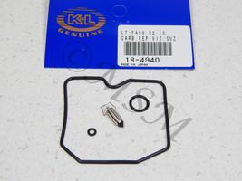 SUZUKI KING QUAD EIGER 400 2x4 4x4 NEW K&L CARBURETOR REBUILD KIT 18-4940 - $32.33