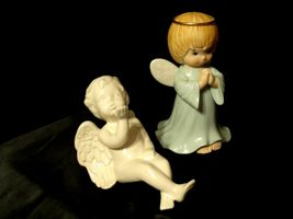 Ceramic Angels AA-191730  Vintage Collectible Pair image 9