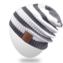 Rotibox Washable Winter Mens Womens Hat Strip Bluetooth Beanie Cap w/Wir... - $51.26
