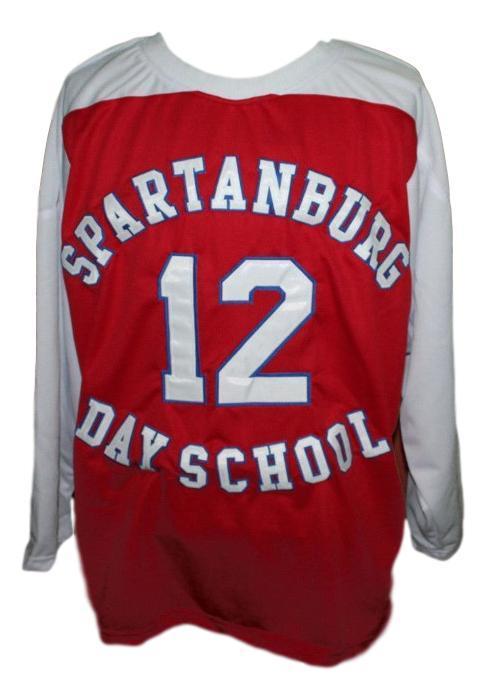 Zion williamson spartanburg day school hockey jersey red   1